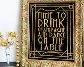 Printable Time to Drink C...