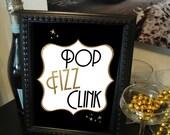 Pop Fizz Clink Black & Go...