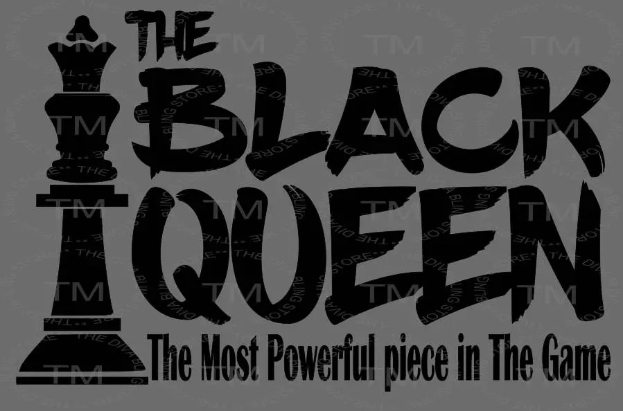 Download Black Queen Chess Piece SVG file   Etsy