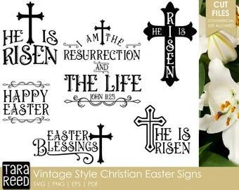 Download Christian easter svg   Etsy