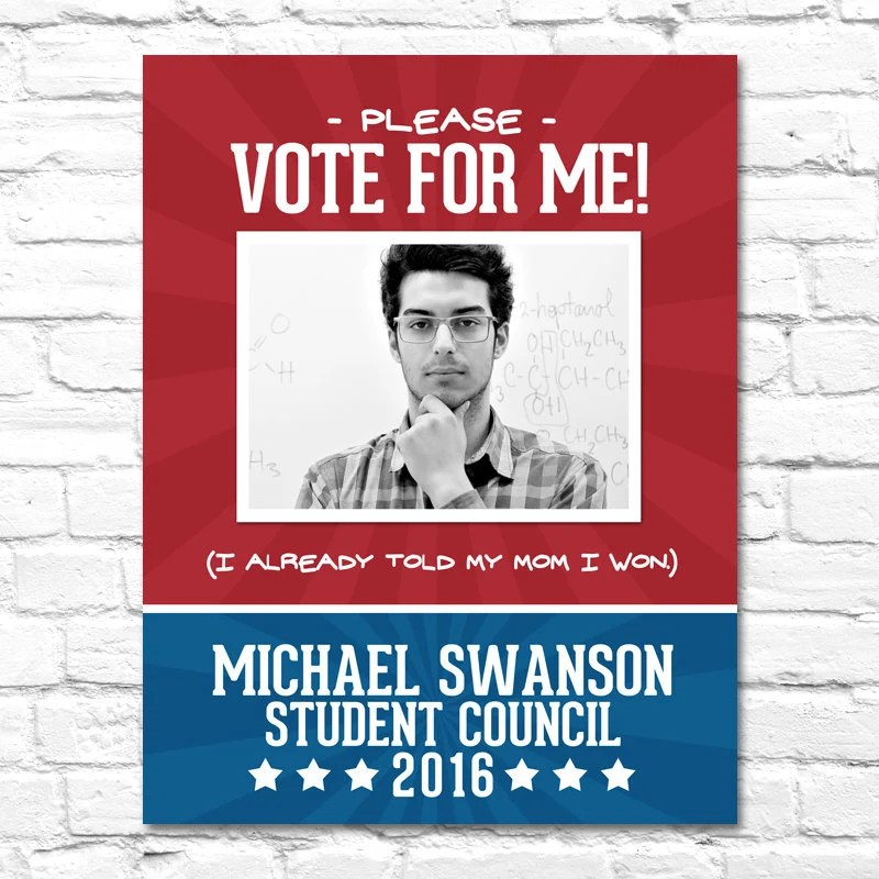 election campaign poster 1 printable