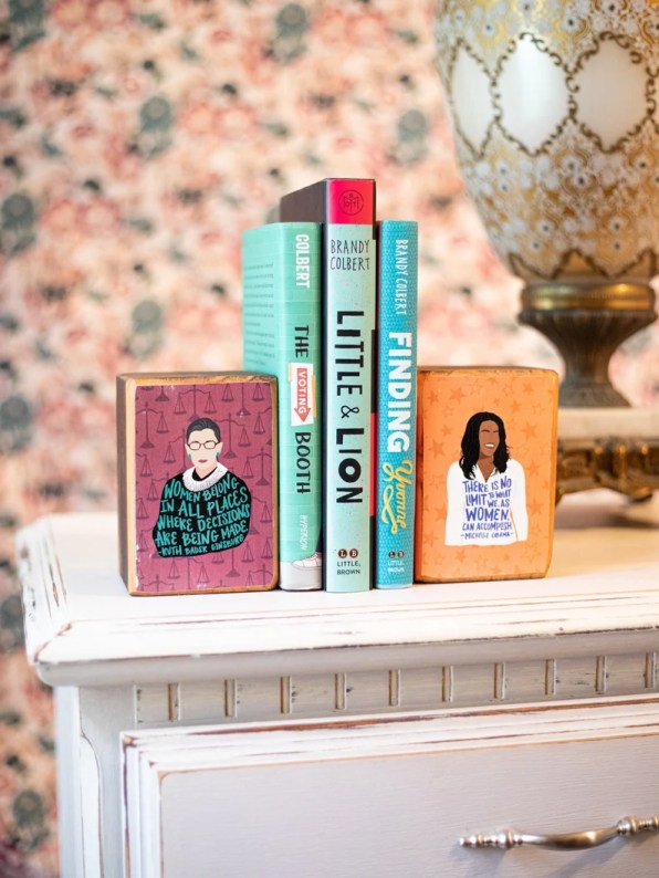feminist icon bookends