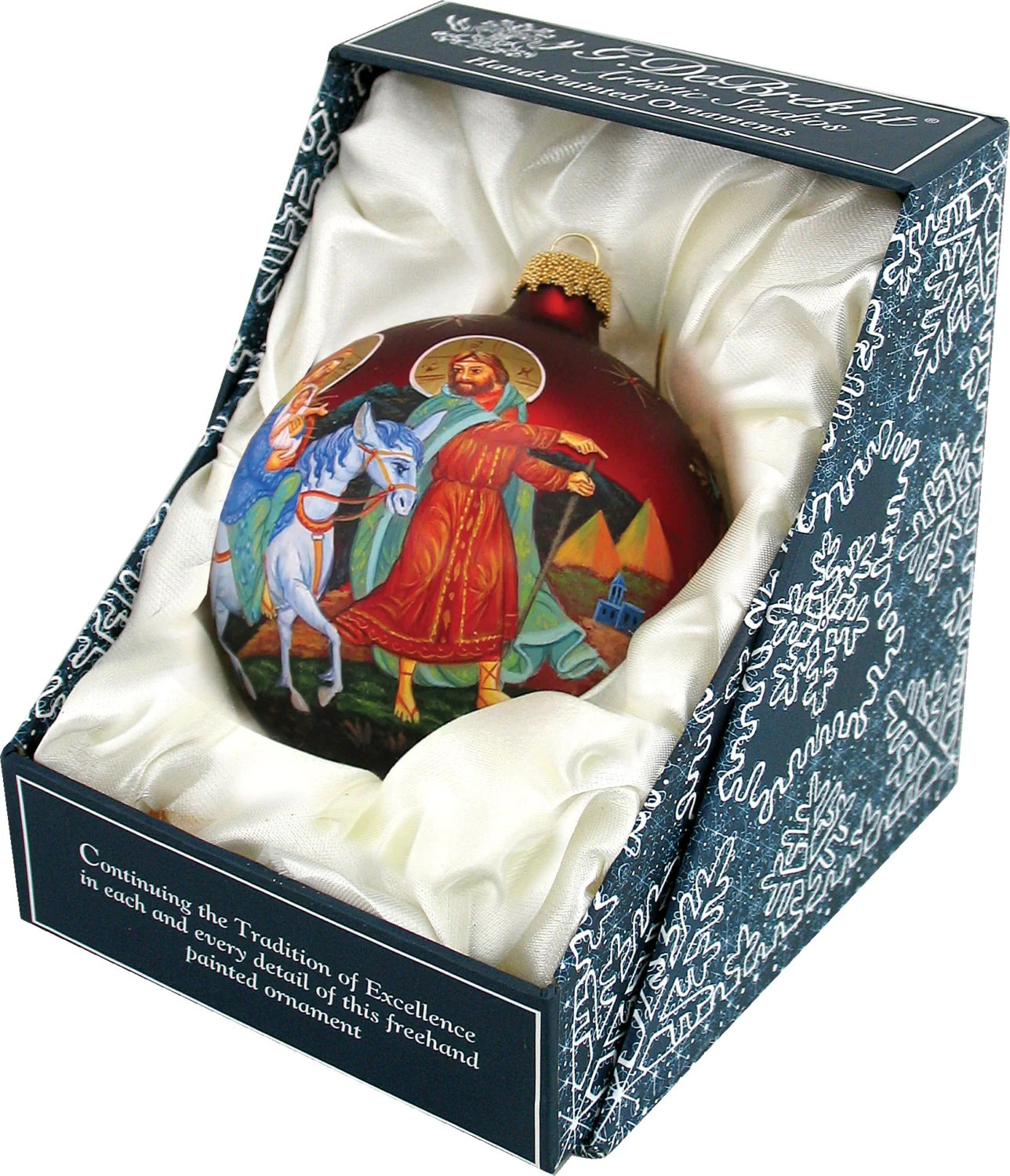 Nativity Ornament Handcrafted Old World Christmas Limited