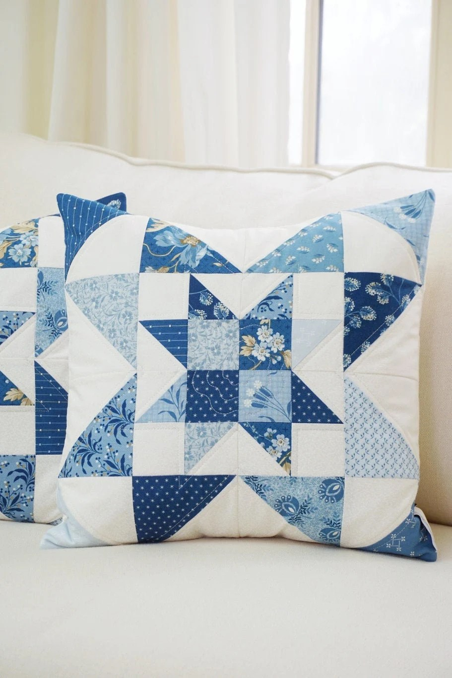 quilted pillow shams etsy