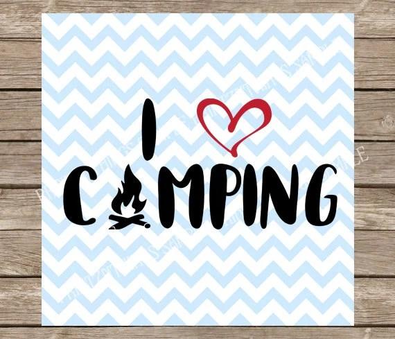 Download Camping svg I Love Camping svg I Heart camping svg camp | Etsy