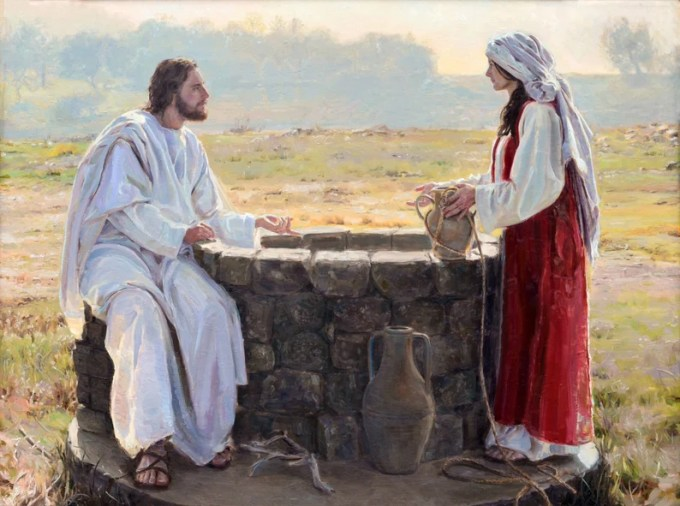 Image result for Jesus at the well