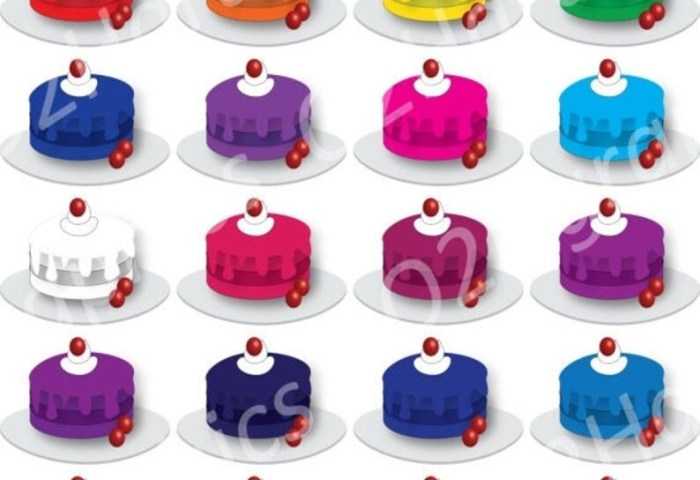 Nov 20 Sale Cakes Clipart Cakes Clip Art Bakery Vector Etsy