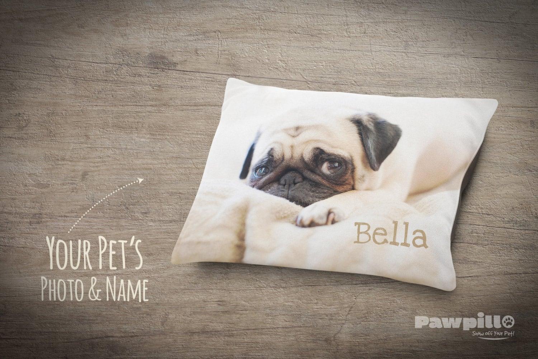 custom dog bed custom photo pet bed
