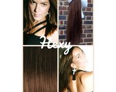 """12"""" long HALO FLIP in HEXY Medium red/auburn brown #5 human remy secret invisible miracle wire hair extensions damage free crown aura circle"""
