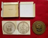 1957 Bronze Medal Institute of Architects Centennial