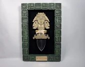 The Noble Collection The Dagger of the Maya Historia Mounted Knife