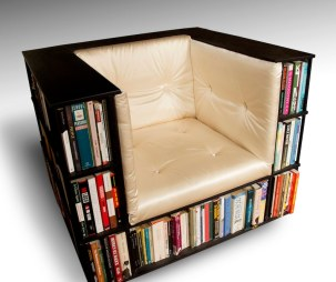 Library Chair  Luxury Club Chair  Bookcase Chair  Made to image 0