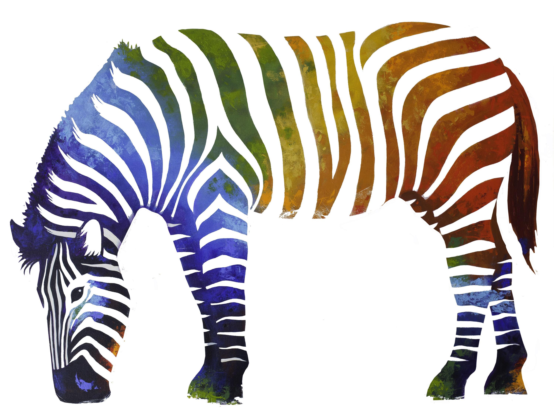 Printable Zebra Poster Printable Zebra Art Printable Zebra