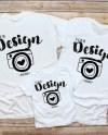 Family Blank White T Shirt Gildan 500 Bella Canvas 3001 3001t Etsy