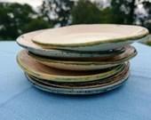 Handmade plate - ceramic art - kitchen - new home - Scotland - side plate