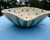 Handmade ceramic salad bowl - pot - ceramic - gift - ceramic art