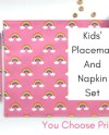 Placemat And Napkin Etsy
