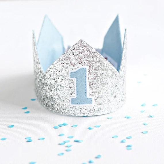 First Birthday Crown 1st Birthday Crown Birthday Boy Crown Etsy