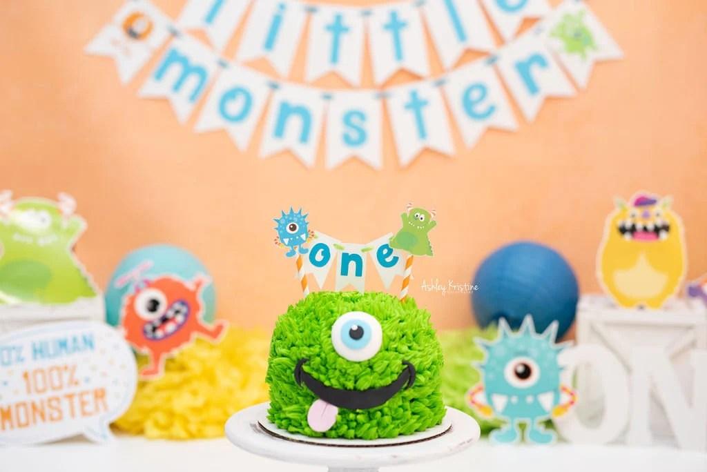 Little Monster Party Etsy
