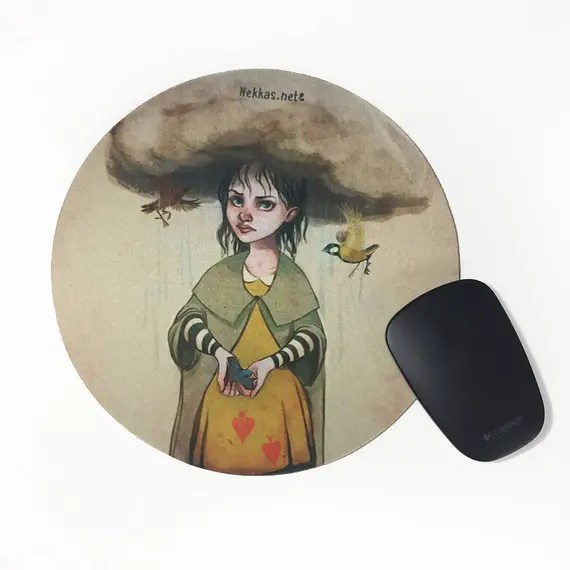 Thunder • Round Mousepad