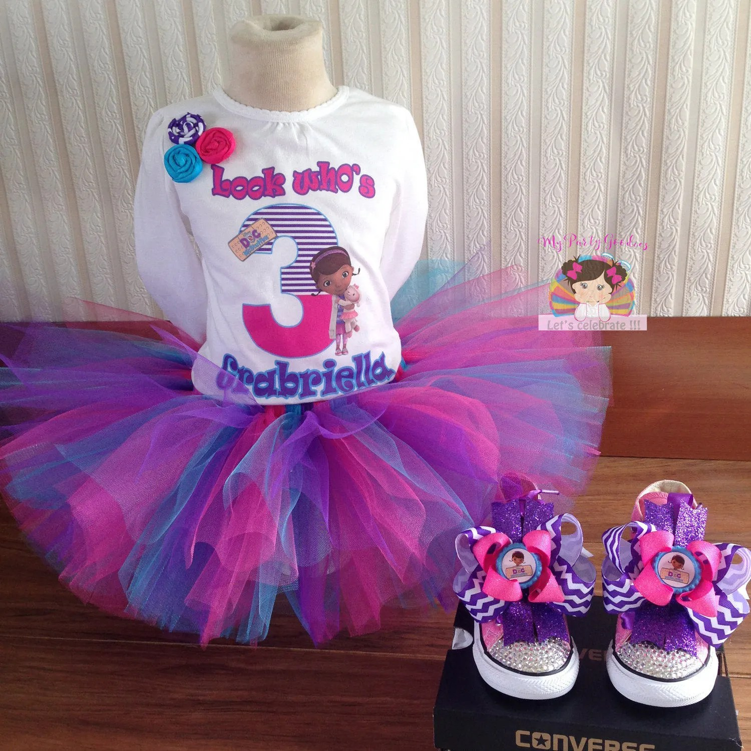 Doc Mcstuffins Birthday Outfit Etsy