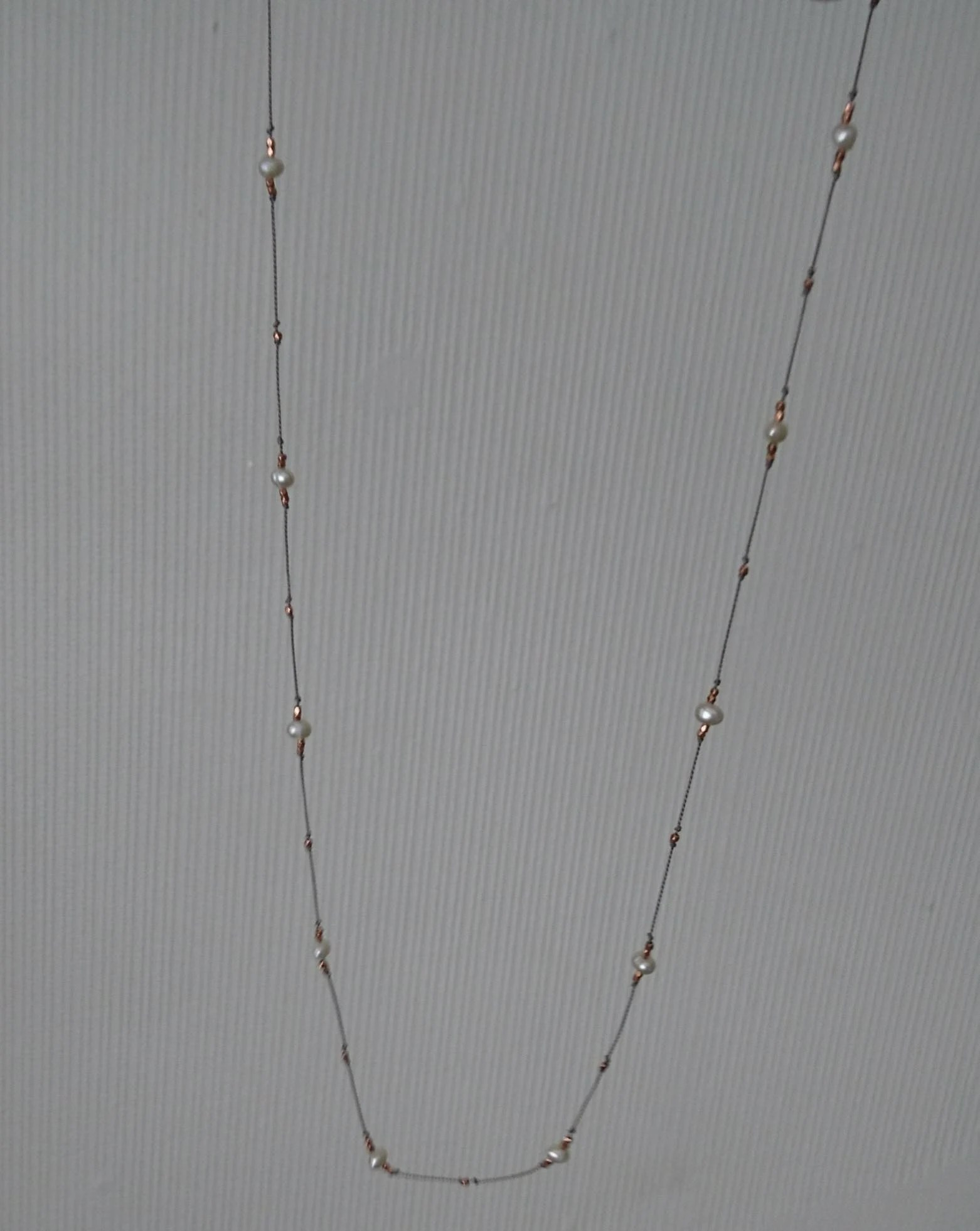 Long Pearl Necklace June Birthstone T For Her