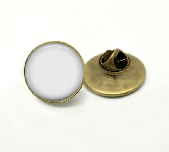 Tie Tack Clutch Lapel Pin Bronze Brooch Png Or And Psd Digital Photo Template Tie Tag Listing Picture Fit To 1 Inch Round Image 1365