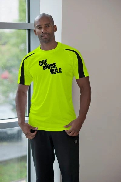 Running T-Shirt - One More Mile