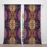 Boho Window Curtains Valance Window Treatments Hippie Decor