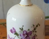 Vintage  Bell by Hammersley/Spode made in England/ Violet Motif/ Purple flowers/ Fine Bone China