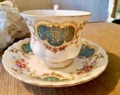 Vintage Royal Albert Teacup & Saucer / Berkeley Fine Bone China Made in England