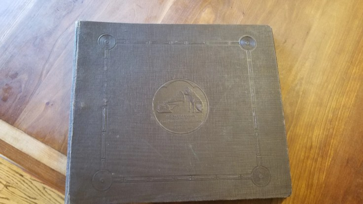 1904 'His master voice' record binder set/ early 20th century music / Record Collection/ set 2