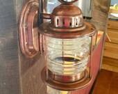 Vintage Brass Light Wall Mounted Porch Light Outdoor/Indoor/ Onion Light/ farmhouse light
