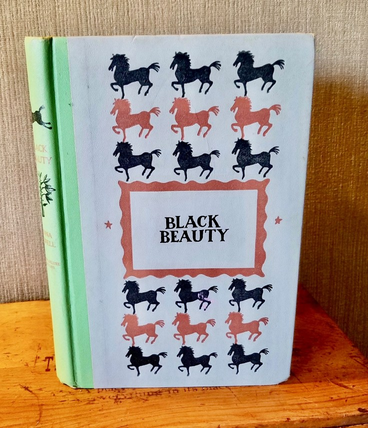 Black Beauty by Anna Sewell/ Junior Deluxe Edition. 1954. Hardcover/ 1954