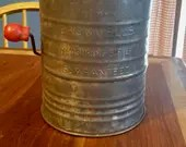 Vintage Bromwells 5 cup Sifter/Farmhouse decor/ Measuring/ Vintage Kitchen/ Shabby Chic