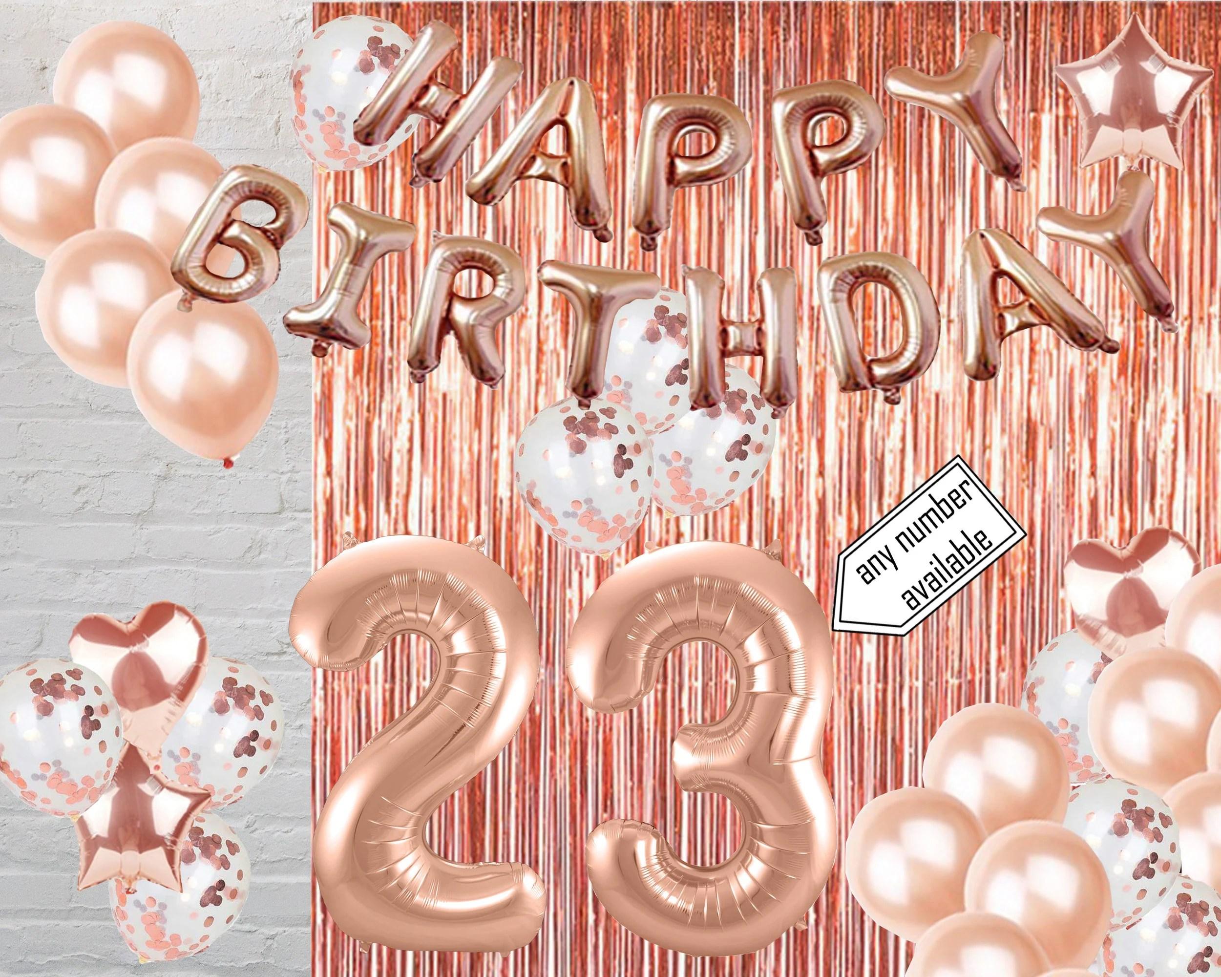 23rd Birthday Party Etsy