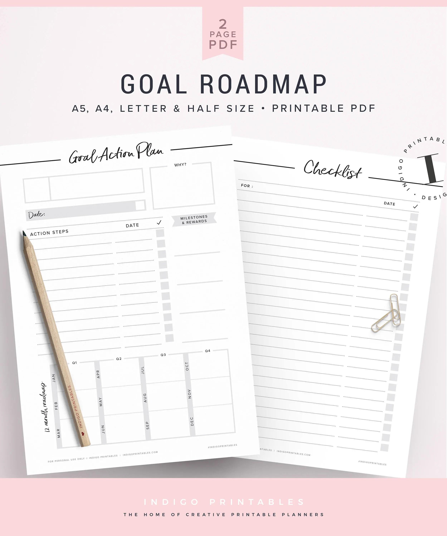 Goal Planner Goal Setting Worksheet Goals Goal