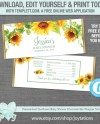 Editable Sunflower Baby Shower Chocolate Bar Wrapper Template Etsy