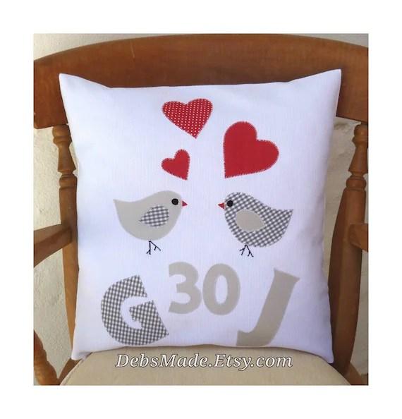 30th Anniversary Cushion