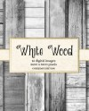White Wood Digital Paper Rustic Wood Texture Wooden Planks Etsy