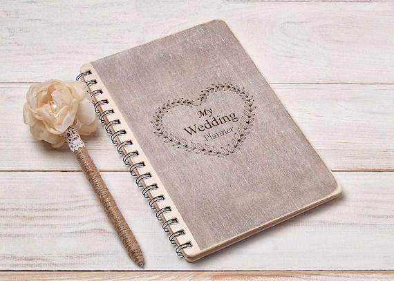 Wedding Planner Book Bride Notebook Wedding Planner