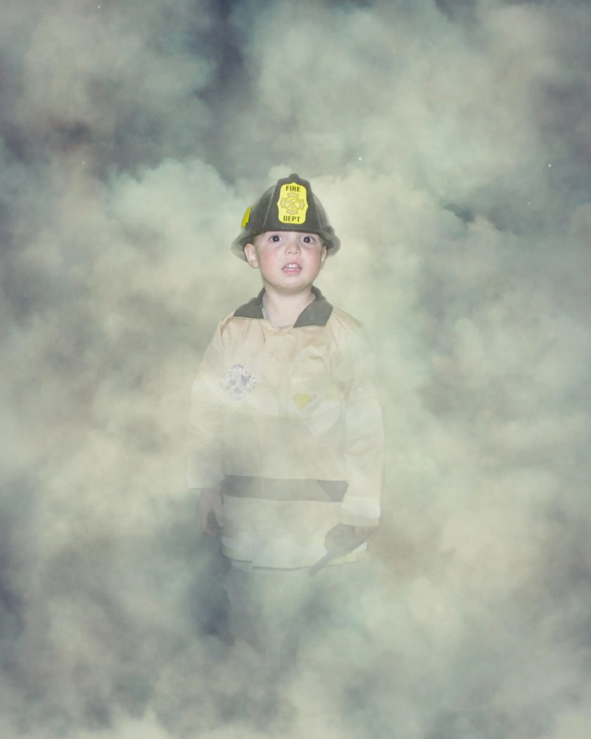 Smoke background with PNG...