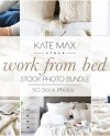 Working From Bed Styled Stock Photo Bundle Holiday Styled Etsy