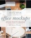 Office Mockups Styled Stock Photo Bundle Lifestyle Social Etsy