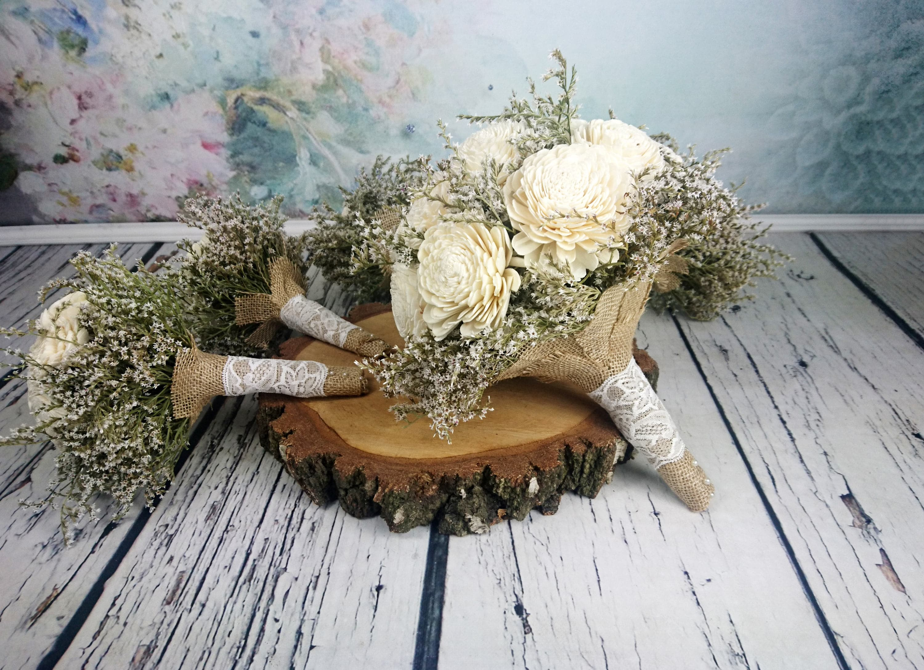 Simple Bridal Flowers Package BIG Bridal 5 Small