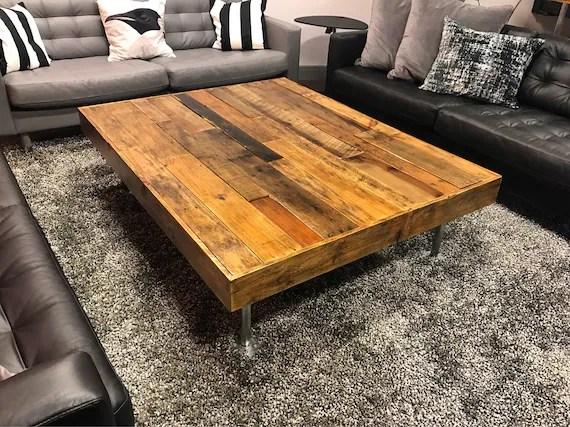 coffee table rustic coffee table distressed wood table barnwood reclaim living room table rustic table