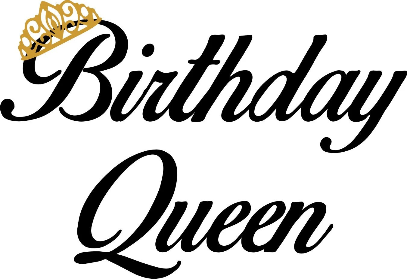 Birthday Queen Raglan T Shirt 3 4 Sleeve Baseball Style