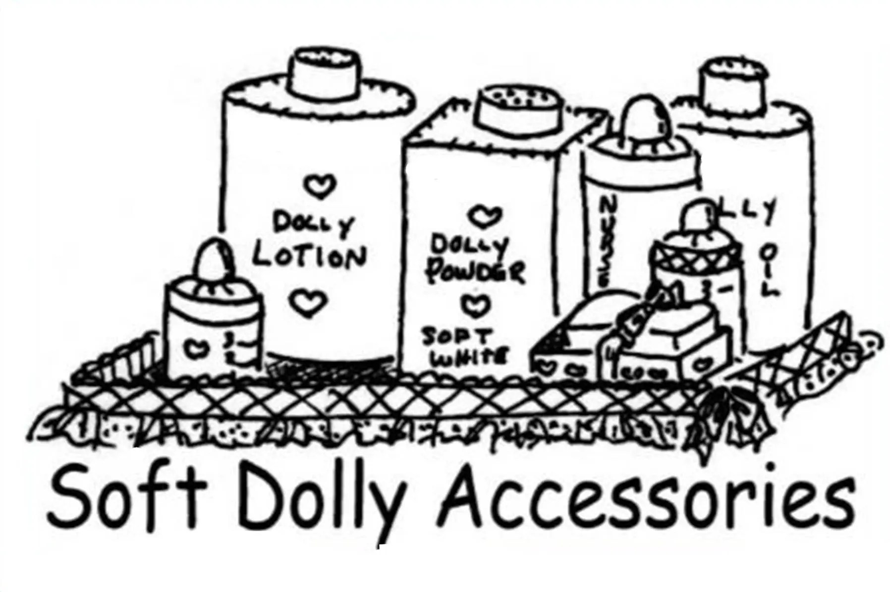 Doll Accessory Pattern Sewing Pattern Pattern Vintage