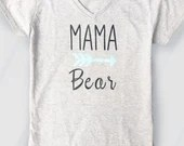 Mama Bear Arrow T Shirt - Mama Bear Shirts - Mama Bear Boho Tees - New mom gifts - Toddler Mom
