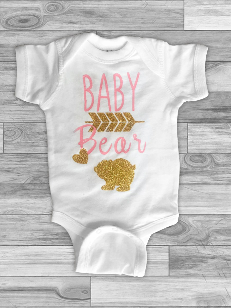 Baby Bear - Pink and Gold...
